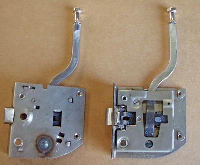 1928-1929 Model A Ford Closed Cab Pickup Outside Door Handle and 1926-27 Model T
